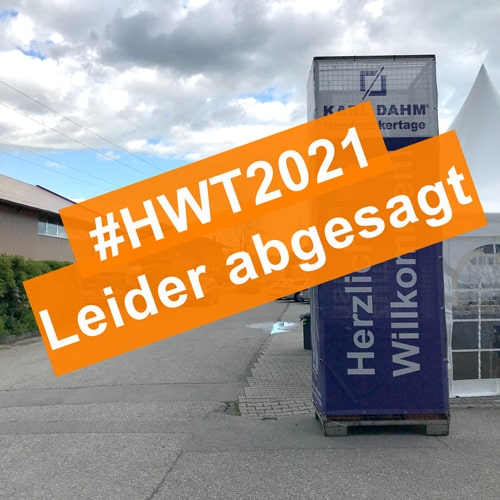 HWT2021 Leider abgesagt